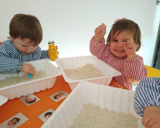 'Els Mussols' desarrollamos habilidades experimentando con arroz