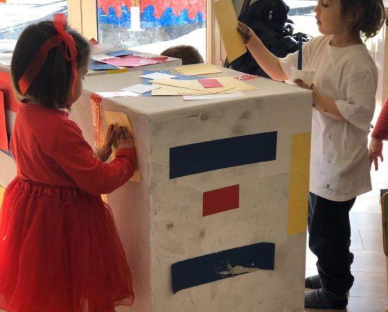 Com hem gaudit amb el projecte de Mondrian a P3 A!