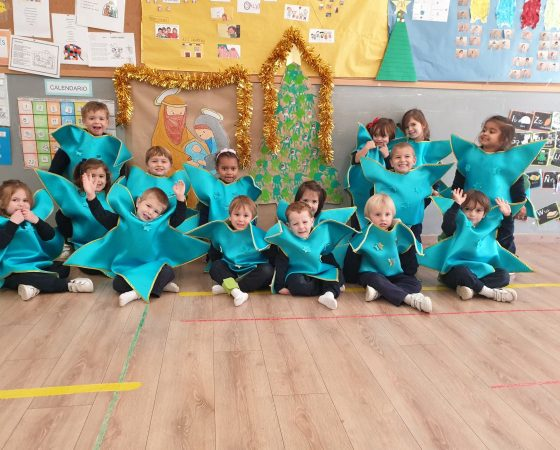 In P3B we are getting ready to celebrate Christmas