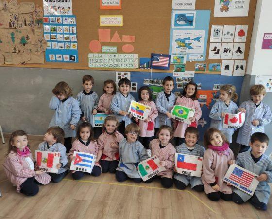 A P4 hem treballat el projecte dels Continents