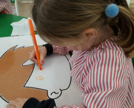 Els nens de P3 treballem les parts del cos
