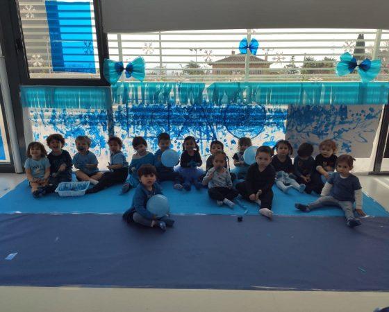 Los hipopótamos celebramos la fiesta del color azul