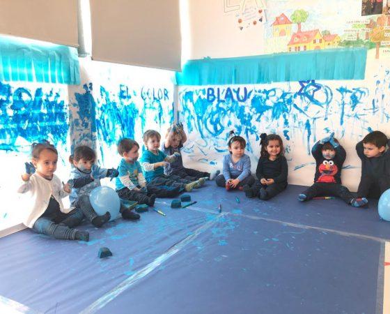 ¡La fiesta del color azul de los tigres!