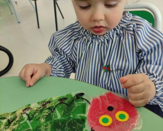 The very hungry Caterpillar in Koala's class