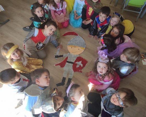 Celebrem Sant Jordi amb molta il·lusió